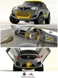 #Renault planeja SUV menor que o #Duster para enfrentar #VW Taigun e #GM Adra #curtimos