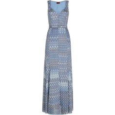 Missoni Lurex Gown (£1,950) found on Polyvore