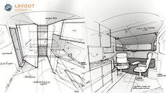 Off-Road Camper Interior Design on Behance
