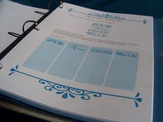 A place to capture all of your ideas (old, new, borrowed, blue) in one place. The Organize Your Dream Wedding Binder and Workbook by Smiling Spaces Party Planning Checklist, Wedding Binder, Wedding Planning, Wedding Ideas, Home Organization, The Borrowers, Dreaming Of You, Organize, Dream Wedding