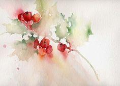 Resultado de imagen de watercolor  christmas