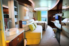 Freestyle Cruising accommodations and staterooms including photos and information about suites and rooms for all families. Find great cruise deals and enjoy Freestyle cruising with Norwegian Cruise Line. Romantic Resorts, Romantic Vacations, Romantic Getaway, Norwegian Epic, Norwegian Cruise Line, Ncl Epic, Travel Couple, Vacation Destinations, Home