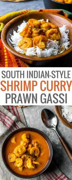 Authentic and flavorful - That's how you would describe this Mangalorean style shrimp curry (Prawn gassi) recipe. Serve this South Indian style shrimp curry over cooked rice or dosas for a complete gastronomic experience. #InstantPotRecipe #Indiancuisine #healthyindianrecipes #ethniccuisine #worldcuisine #indianfood via @simmertoslimmer