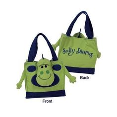Laid Back 'Sully Saurus' Dinosaur' Snuffle Tote Purse for Parties >>> Find out more about the great product at the image link.