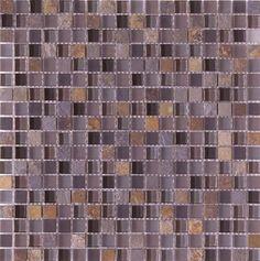 """#Interceramic - Pietra Cristal Multicolor 12"""" x 12"""" Mosaic"""