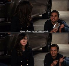 I love that Nick can be insanely sexy, but also completely disgusting at the same time haha #NewGirl