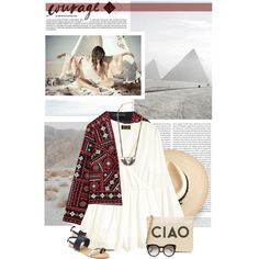 C i a o by fluffiness on Polyvore featuring H&M, Forever 21, Banana Republic, Lionette, Ryan Roche, Valentino and Oris