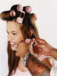 how to use hot rollers... properly... If it works then that is how I will curl my hair from now on