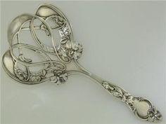 Sterling Wallace Bon Bon Nut Spoon Violet 1904 Floral Art Nouveau | eBay#ht_2597wt_754#ht_2597wt_754