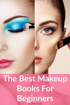 There are some really great makeup books for beginners out there. Whether you're just looking to learn the basics or you want to step up your makeup game a bit these books are for you! Beginner Makeup Kit, Makeup Tutorial For Beginners, Beauty Hacks For Teens, Makeup For Teens, Makeup Ideas, Beauty Tips For Face, Beauty Make Up, Prom Makeup, Eye Makeup
