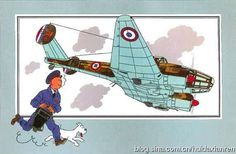 tintin and potez 63 II