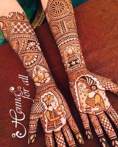 31 Drop-Dead Stunning Dulhan Mehndi Designs for Hands & Legs - MyStyles