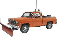 This is the 1/24 Scale GMC Pickup with Snow Plow Plastic Model Kit by Revell. Suitable for Ages 10 & Older. FEATURES: Highly detailed plastic pieces molded in white and clear Chrome plated parts and s