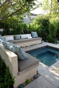Backyard ideas, create your unique awesome backyard landscaping diy inexpensive on a budget patio - Small backyard ideas for small yards landschaftsbau, Backyard Ideas For Small Yards, Small Backyard Landscaping, Small Patio, Landscaping Ideas, Patio Ideas, Mulch Landscaping, Inexpensive Landscaping, Small Pool Backyard, Mulch Ideas
