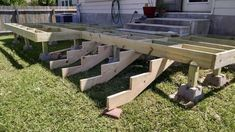 Deck Plans 746753181949901698 - how-to-build-a-deck-step-by-step-with-pictures-stairs-middle-class-dad Source by hedwardportman Building A Floating Deck, Deck Building Plans, Floating Deck Plans, Building Steps, House Building, Green Building, Small Garden Pergola, Backyard Patio, Outdoor Patios