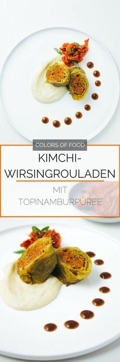 Was passiert wenn ein deutscher Klassiker auf koreanisches Kimchi trifft?! Richtig, Fusion Food vom Feinsten. Wirsingrouladen neu interpretiert!