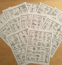 Produkt - PRVNÍ HLÁSKA VE SLOVĚ Photo Wall, Playing Cards, Language, Classroom, Education, School, Dyslexia, Class Room, Photograph