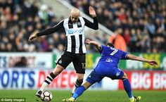Shelvey returned from his five-game ban to ma Newcastle's progression to fourth round