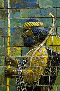 Arquero sumerio, (Susa) Irán, Museo de Pérgamo