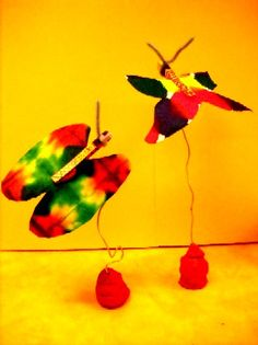 Turn those coffee filter butterflies into stabiles