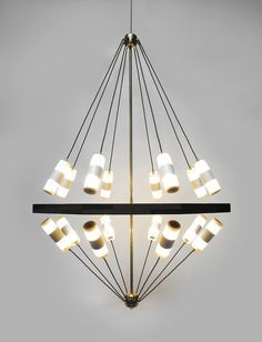 Float Chandelier by Bower