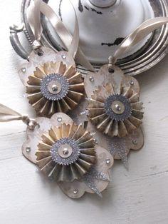 Pinwheel Ornaments