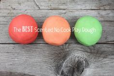The BEST Scented No Cook Play Dough « Mama. Papa. Bubba.