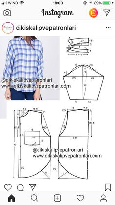 Clothing Patterns Sewing Patterns Blouse Patterns Pola Tangan Button Downs Sewing Projects Pattern Cutting Pattern Making Collars Dress Sewing Patterns, Blouse Patterns, Clothing Patterns, Shirt Patterns For Women, Sewing Blouses, Make Your Own Clothes, Pattern Cutting, Fashion Sewing, Sewing Techniques