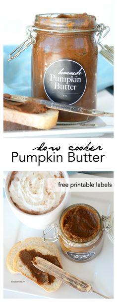 Slow Cooker Pumpkin Butter Recipe - The Idea Room