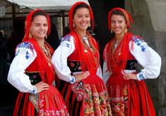 Tradicional clothing from Minho, Portugal
