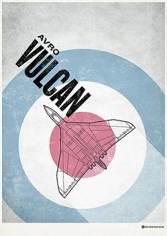 Avro Vulcan Poster Anti Flash, V Force, Avro Vulcan, Warsaw Pact, Wonderful Machine, Air Show, Cool Posters, Cold War, Military Aircraft