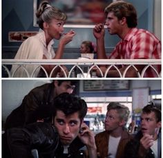 Teen Movies, Iconic Movies, Classic Movies, Good Movies, Movie Tv, Grease 1978, Grease 2, Grease Sandy, Grease Is The Word