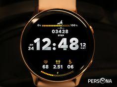 Digital Watch Face, Samsung Gear S, Gear S3 Frontier, Open App, Watch Faces, Smartwatch, Persona, Backgrounds, Technology