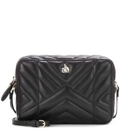 LANVIN Nomad Mini Quilted Leather Cross-Body Bag. #lanvin #bags #shoulder bags #leather #lining #