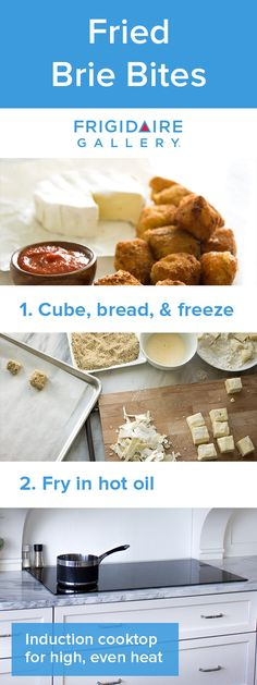 These crunchy, creamy brie bites from @happymoneysaver are absolutely delicious. They're also freezer-friendly for a simple make-ahead snack or appetizer! Click for full recipe.