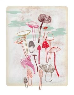 Funghi  by Groundwork on Etsy  http://img0.etsystatic.com/il_fullxfull.190562580.jpg