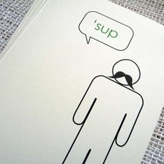 Fab.com | Sup Male Cards Set Of 6