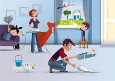 Ces 15 petites astuces vont vous simplifier la vie pour le ménage On ne peut échapper au ménage car on ne peut tout simplement vivre dans un environnement