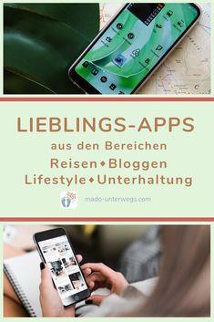 Welche Apps haben sich als meine Lieblinge herauskristallisiert? In diesem Artikel zeige ich Dir 15 nützliche #Apps aus den Bereichen #Reisen - #Bloggen - #Lifestyle - #Unterhaltung. Viele sind auch als Desktopvariante erhältlich.    #madoinspiration #madowissen #madounterwegs👣    { Werbung, da Marken-/Firmen-/Ortnennung ohne Auftrag, aber als persönliche Empfehlung // Dienstleistungen/Produkte selbst bezahlt } Galaxy Phone, Samsung Galaxy, Desktop, Apps, Iphone, Entertaining, Blogging, Advertising, Products