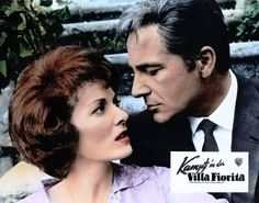 Maureen O'Hara and Rossano Brazzi in THE BATTLE OF THE VILLA FIORITA (1965) | Warner Archive