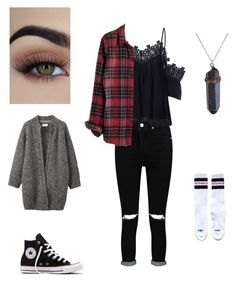 Unbenannt #24 by indiebitch on Polyvore featuring polyvore, fashion, style, Madewell, Toast, Vetements, Boohoo, Converse and clothing