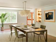 HGTV has beautiful pictures of kitchen table design ideas & options featuring a variety of styles, materials and colors.