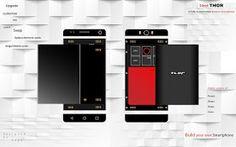 Thor é um conceito de smartphone completamente customizável. Será o futuro? #tecnologia #tech #smartphone #customizavel