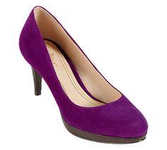 Cute Low Heel Shoe!!  Cole Haan Chelsea Low Pump - www.colehaan.com