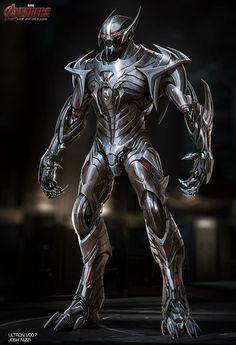 Así pudo ser la apariencia de Ultron y Hulk Buster en Avengers: Age of Ultron Marvel Concept Art, Marvel Art, Marvel Dc Comics, Marvel Heroes, Marvel Villains, Marvel Characters, Hulk Buster, Die Rächer, Iron Man Armor
