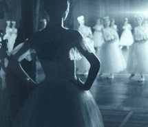 backstage, ballerina