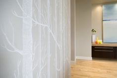 tree wallpaper.....nice neutral and subtle...