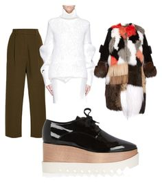 Untitled #10 by cirreaupshur on Polyvore featuring Victoria Beckham, Fendi, MM6 Maison Margiela and STELLA McCARTNEY