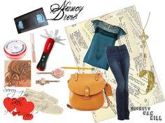 """""""Nancy Drew ~ Secrets Can Kill"""" by dollfacekiti on Polyvore"""
