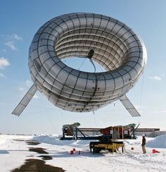 Altaeros Energies lofts a lighter-than-air turbine.